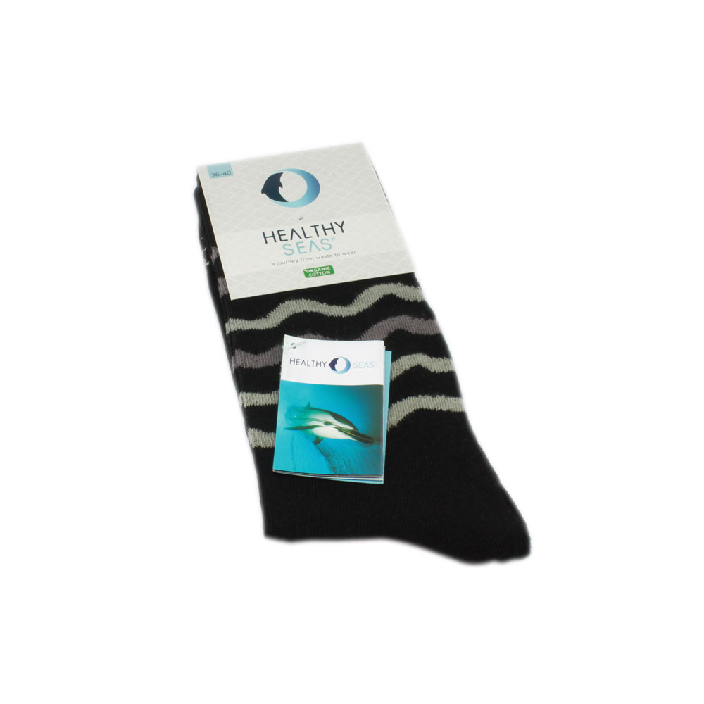 Healthy Seas Socken - Schwarz