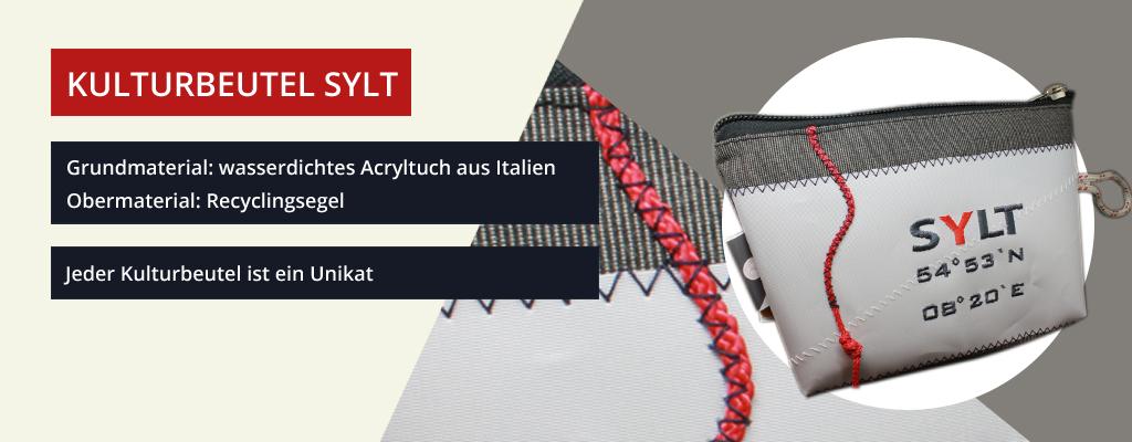 Kulturbeutel Sylt