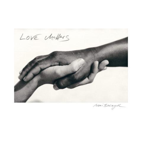 """Kunstdruck """"love matters"""""""